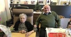 Mariés depuis 76 ans, ces deux centenaires, nés un 1er janvier, forment le plus vieux couple de Belgique