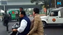 Rs 6,300 fine for Congress worker who gave Priyanka Gandhi a scooter ride