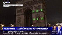 Nouvel An: dans les coulisses du traditionnel spectacle sur l'Arc de Triomphe