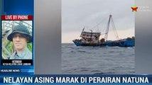 Nelayan Asing Kembali Marak di Perairan Natuna