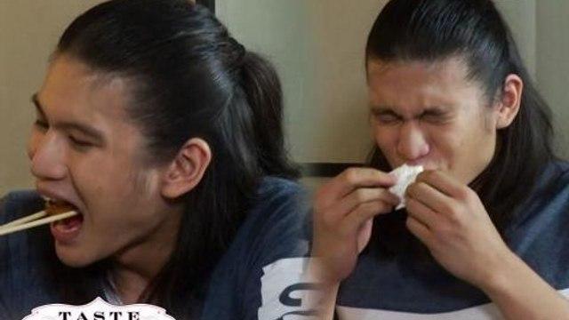 Taste Buddies: Gil Cuerva cries over spicy food!