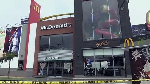 Indignación en Perú tras la muerte de dos jóvenes en un McDonald's