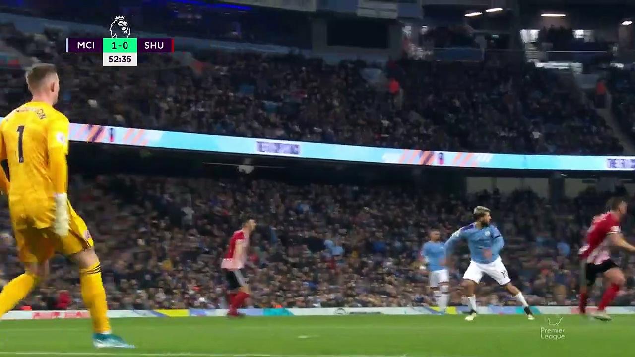 Manchester City - Sheffield United (2-0) - Maç Özeti - Premier League 2019/20