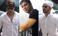 Television celebs attend Actor Kushal Punjabi's funeral
