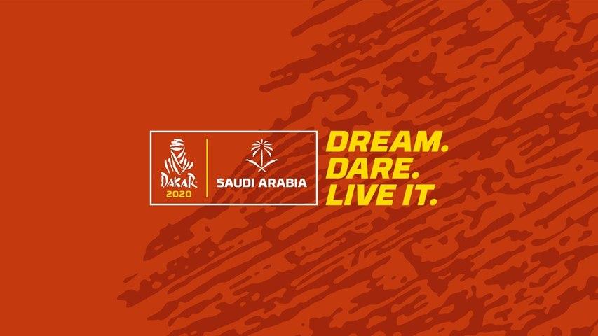 LIVE - Start podium presented by Aquafina - Dakar 2020
