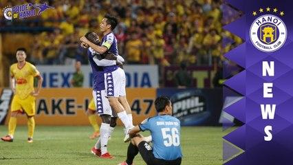 10 bàn thắng đẹp như tranh vẽ trong những cuộc đối đầu giữa CLB Hà Nội - DNH Nam Định | HANOI FC