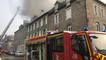 Un incendie dans un bâtiment en plein centre-ville de Lamballe
