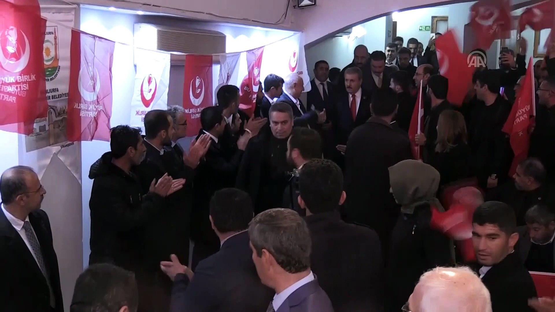 BBP Genel Başkanı Destici'den 'Türkiye'nin Otomobili'ne destek - ŞANLIURFA