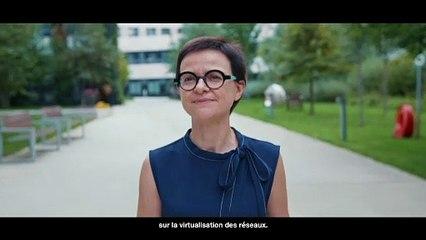 Hélène , architecte et chef de projet virtualisation des réseaux.