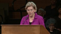 Warren Begs Supporters For Cash