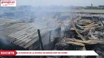 Société : Le marché de la Riviera Palmeraie part en fumée