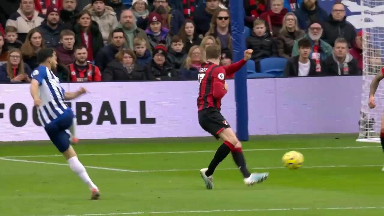 Brighton - Bournemouth (2-0) - Maç Özeti - Premier League 2019/20
