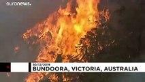 Australia: immagini dello Stato di Victoria in fiamme