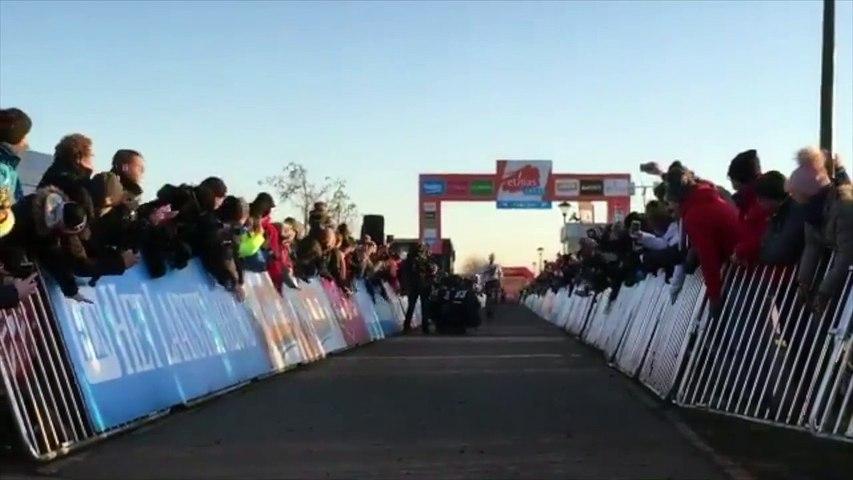 Cyclo-cross - Mathieu van der Poel wins in Bredene