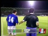 Les deux premiers buts géniaux de Zinédine Zidane en équipe de France