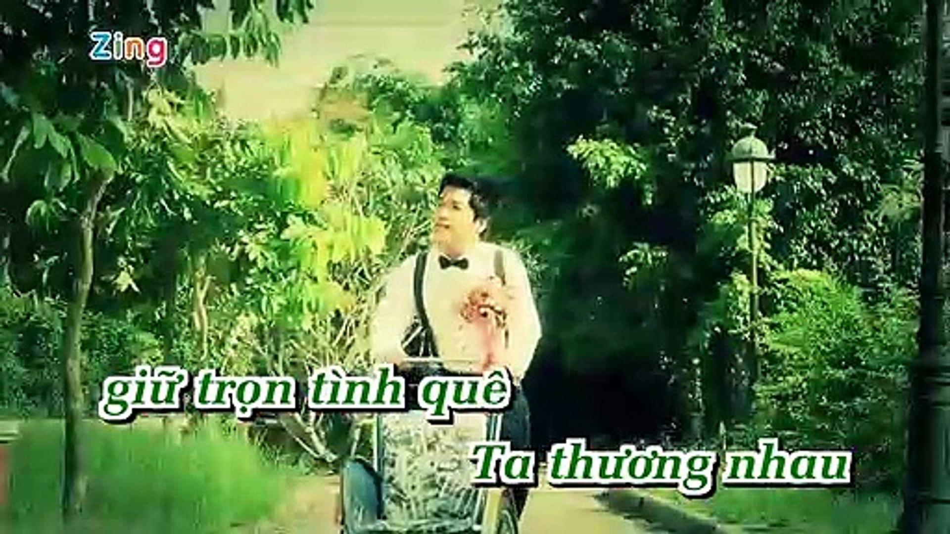 [Karaoke] Hoa Cài Mái Tóc - Đào Phi Dương [Beat]
