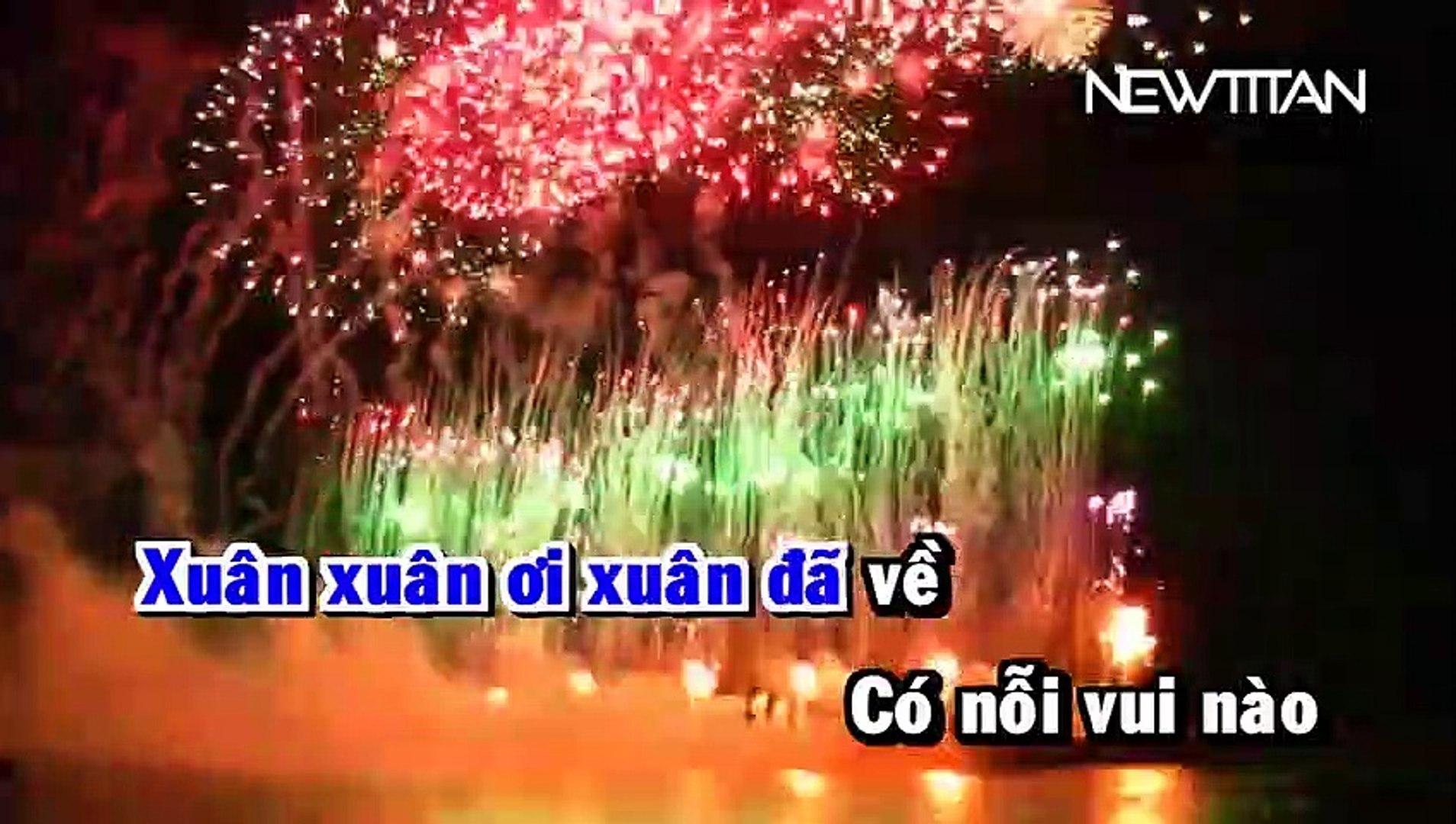 [Karaoke] Xuân Ơi Xuân Đã Về (Remix) - Vũ Duy Khánh [Beat]