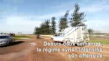 Syrie: intensification des frappes du régime