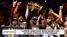 LeBron James Honored As AP Male Athlete Of The Decade