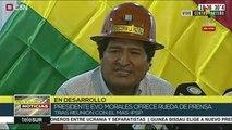 teleSUR Noticias: Evo Morales se reunió con dirigentes del MAS-IPSP