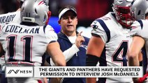Josh McDaniels Linked To Giants, Panthers Head Coach Vacancies