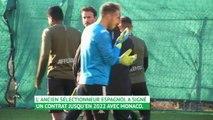 Monaco - La première séance d'entraînement de Robert Moreno à Monaco