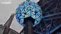 NYC's iconic New Year's Eve ball tested in Times Square