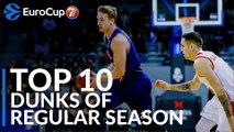 7DAYS EuroCup, Top 10 Dunks of the Regular Season!