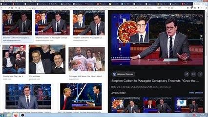Gar nicht so lustig! Colbert hilft Podesta | Comet Ping-Pong Keller | Medien & Kirche vertuschen