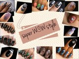 Snow Nail Tutorial __ A Dotted Snowball winter nail art!