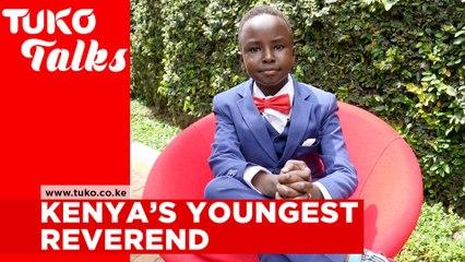 Kenya's youngest reverend - Victor Githu