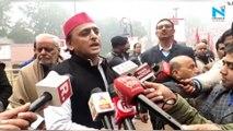 'Tricolor' will remain nation's color: Akhilesh Yadav on saffron row