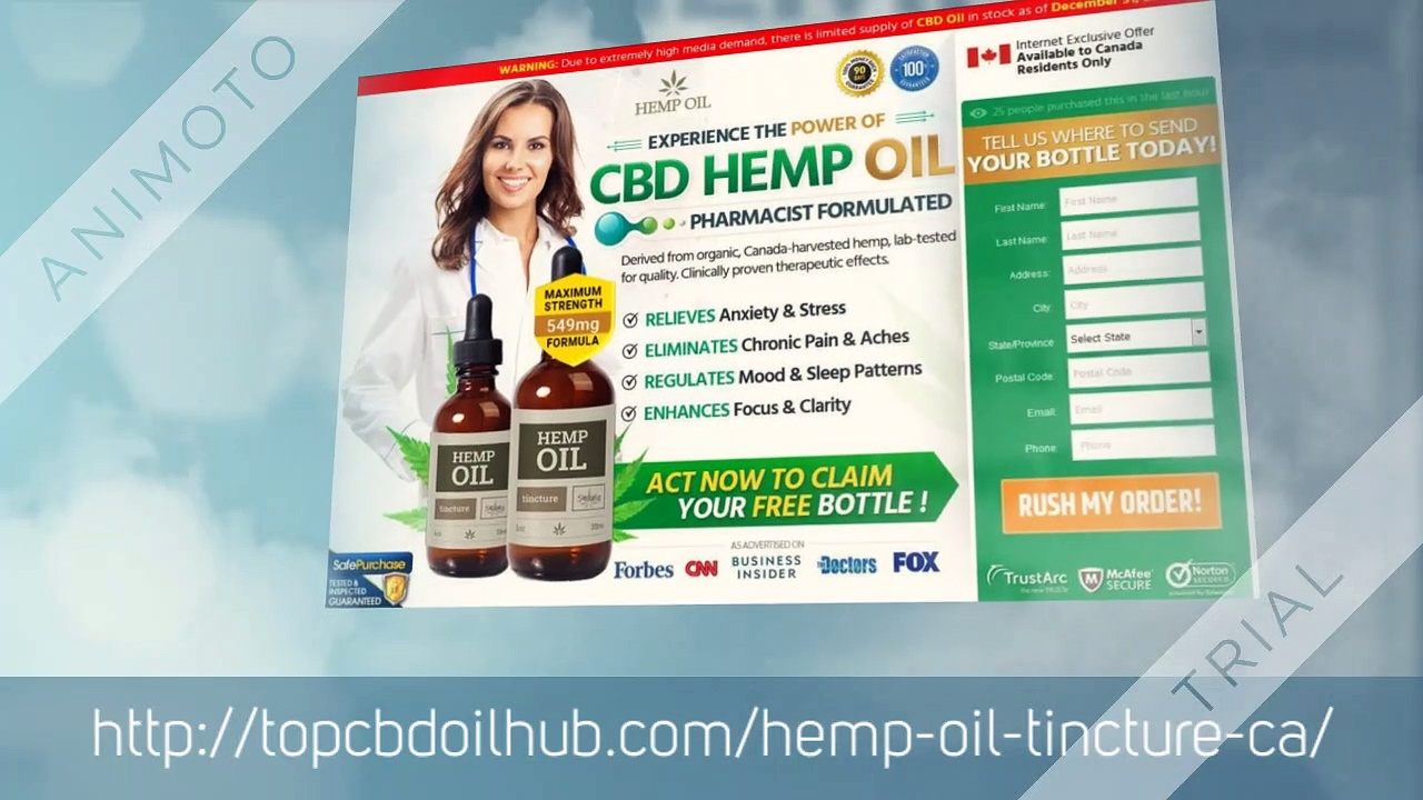 Hemp Oil Tincture Oil Canada : Best Price Reviews & Buy?