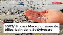 Cars Macron, marée de billes, bain de la St-Sylvestre… 5 infos bretonnes du 30 décembre