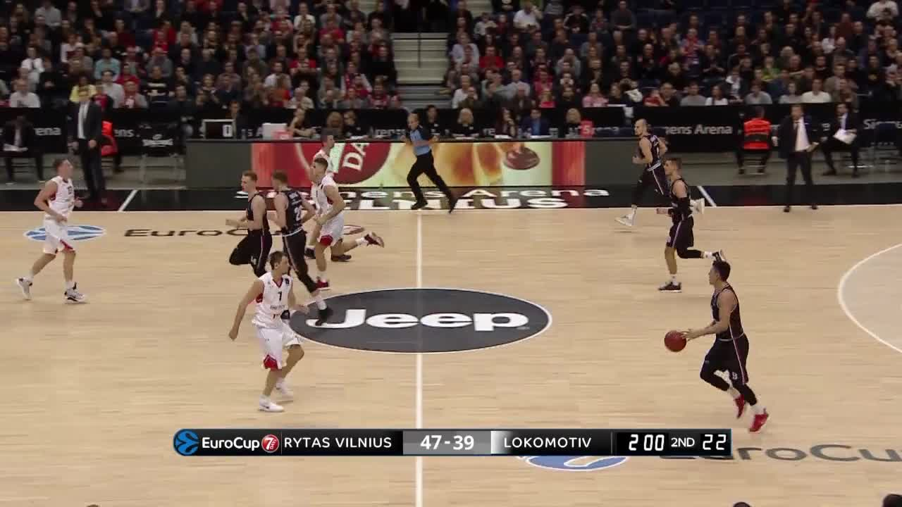 Rytas Vilnius top plays of the regular season