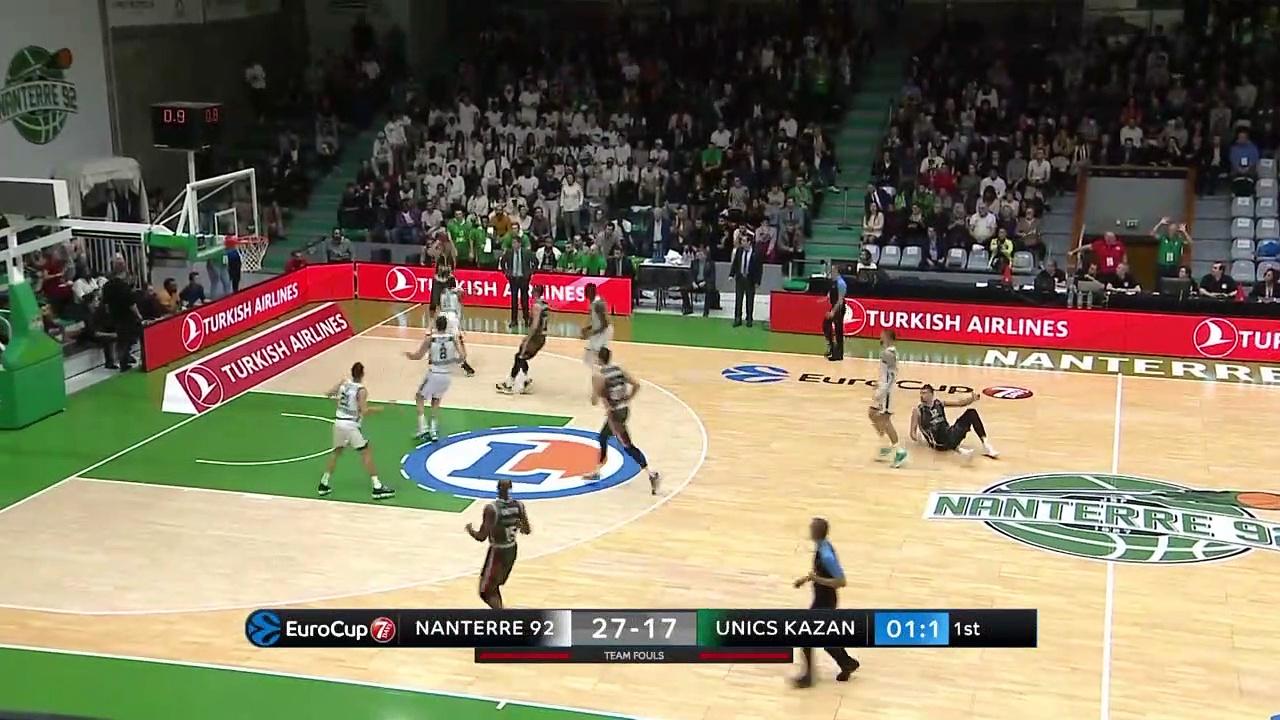 UNICS Kazan top plays of the regular season