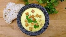 Recette : Soupe de légumes et fromage