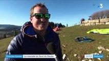 Franche-Comté : l'impressionnante cascade du Saut du Doubs