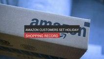 Amazon Customers Set Holiday Shopping Record
