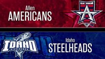 ECHL Allen Americans 5 at Idaho Steelheads 2