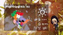 01/01/2020 Vietnam weather forecast
