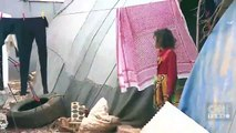 İdlib'den kaçan siviller Türkiye sınırına gidiyor