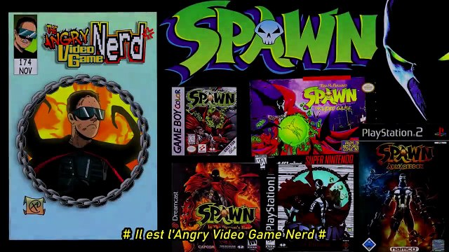 Angry Video Game Nerd #174 : Les jeux Spawn (VOSTFR)