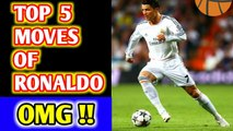 Cristiano Ronaldo Top 5 Moves | 2020 ,Amazing Moves of Ronaldo, Unbelievable Moves by Cristiano Ronaldo, No One Believed If These Moves Were Not Recorded