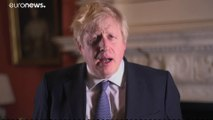 UK's Boris Johnson says Britain must 'bid farewell to division' in New Year's message