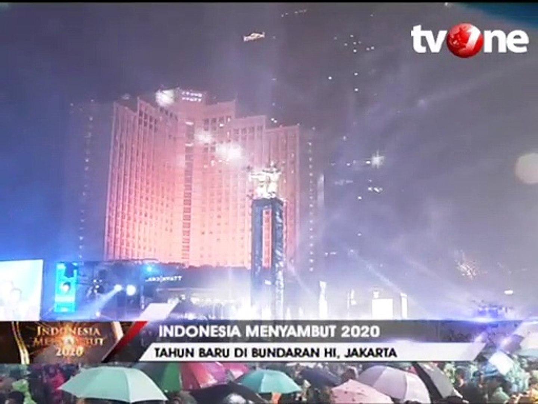 Meriah Indonesia Pesta Kembang Api Sambut Tahun Baru 2020 Keyword Tahun Baru 2020 Tahun Baru