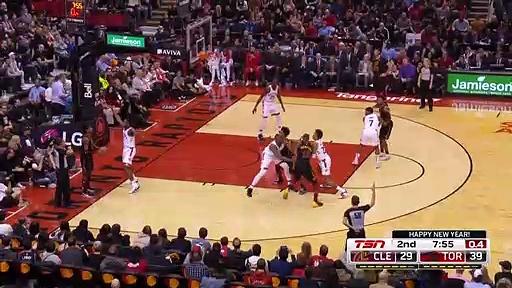 Cleveland Cavaliers 97 - 117 Toronto Raptors