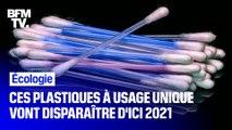 Ces plastiques à usage unique vont progressivement disparaître d'ici 2021