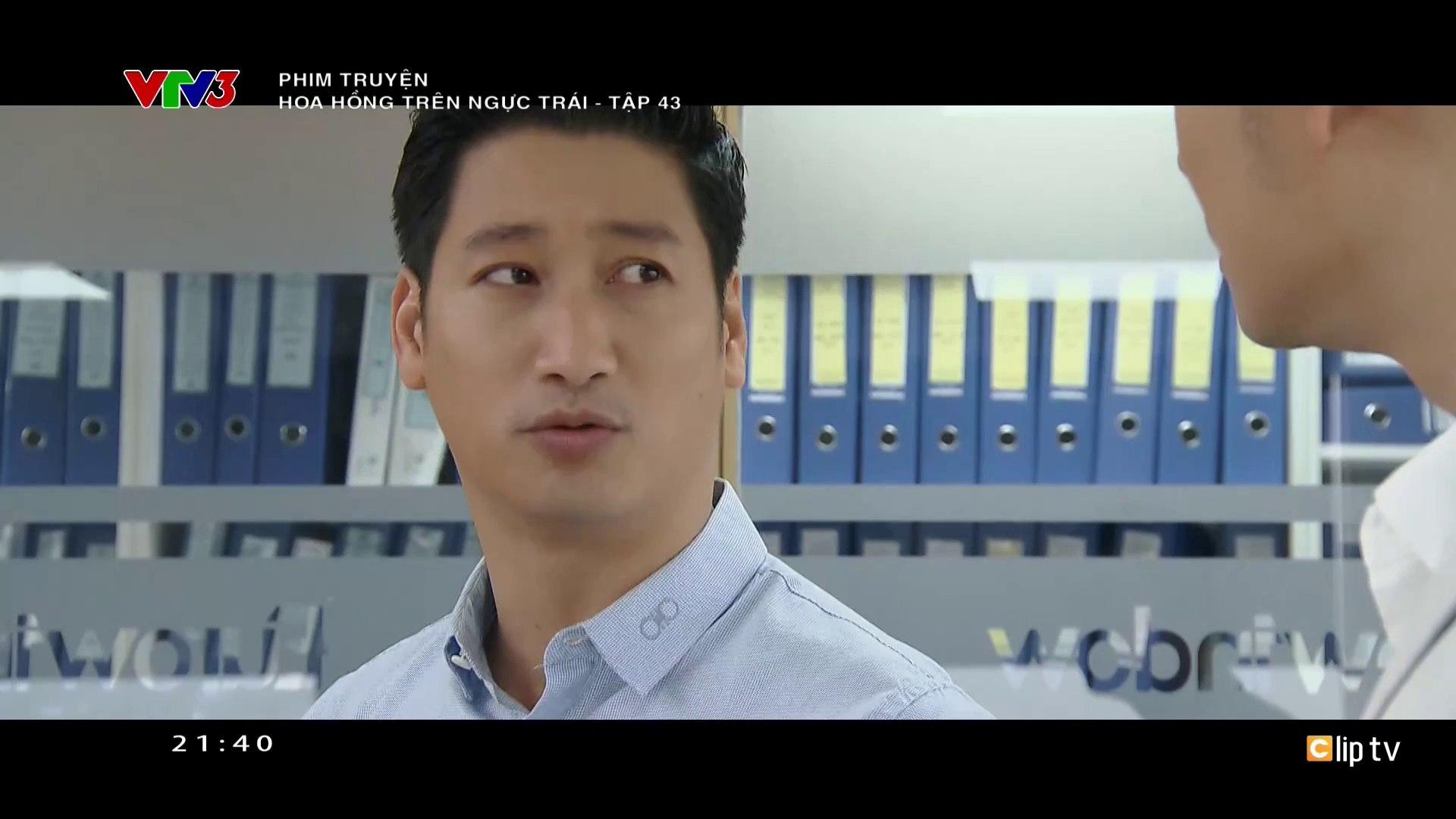 Hoa Hồng Trên Ngực Trái Tập 43 - Ngày 1-1-2020 - Phim Việt Nam VTV3