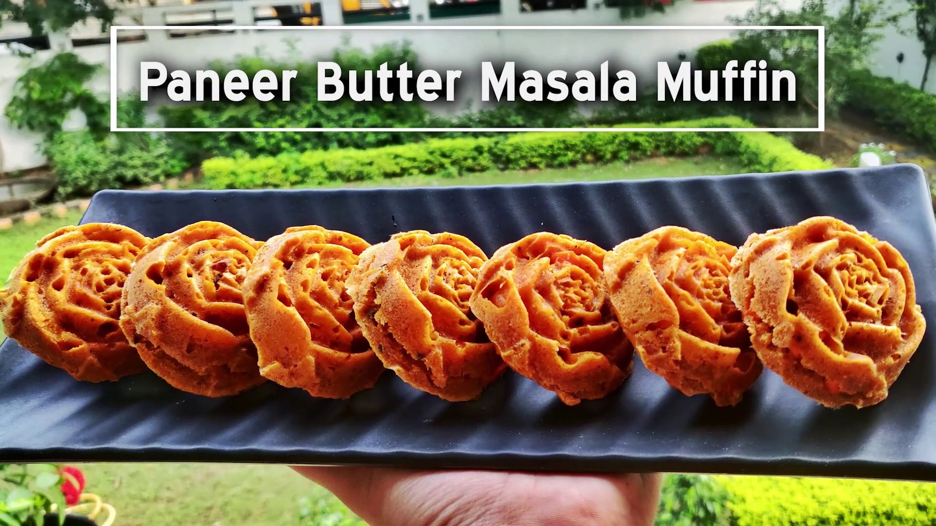 SlowMo Prep of How to use Paneer Butter Masala in Very Unique Way | PBM Muffin | Unique Paneer Butte